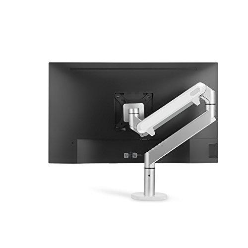 """ThingyClub - Braccio di supporto e staffa per schermi LCD di 10""""-27"""", con standard di montaggio VESA e molla a gas Inclinabile di 90° verso l'alto e di 85° verso il basso"""