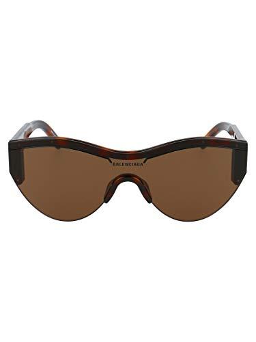 ラグジュアリーファッション|BalenciagaレディースBB0004S007ブラウンアセテートサングラス|シーズンパーマネント