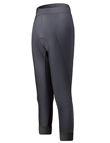 InPro Sports Damen lange Fahrradhose mit gepolsterter LSF 50+ Lange Legginghose Bike Shorts, Italian Pro Chamois - - X-Groß