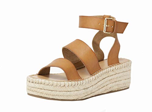 The Drop Women's Listilla Espadrille Flatform Ankle Strap Sandal Wedge