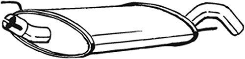 Endschalldämpfer (1220-1602) Dämpfer Abgasanlage Auspufftopf