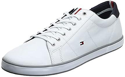 Tommy Hilfiger H2285arlow 1d, Zapatillas Hombre, Blanco (White 596), 42 EU