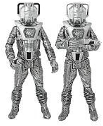 Doctor Who  Silber Nemesis  Cyberleader and Cyberman Figure Set of 2 by Character Options (English Manual)