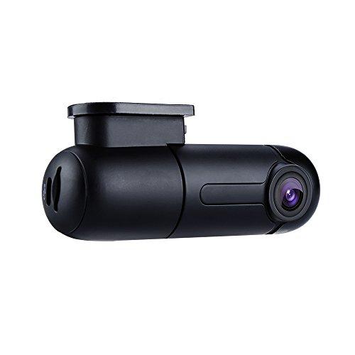 Blueskysea B1W Dash Cam Mini WiFi Dash Caméra Embarquée Voiture HD 1080P avec Angle de rotation 360° G-Capteur et Enregistrement En Boucle, Taille env. 9x3x4 cm