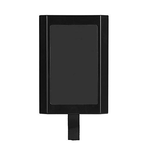 Denash Festplatte Festplatte für Xbox 360, Schwarz Interne Slim HDD 320GB