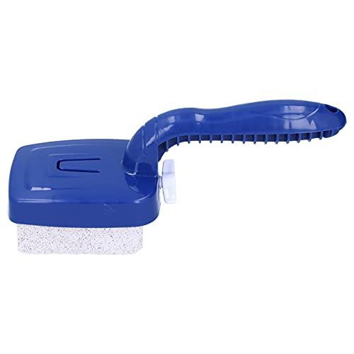 Surebuy Cepillo Limpiador de Algas, Mejor Limpieza Cepillo de Limpieza de Piscinas Materiales ecológicos Más Conveniente Vida más Larga con Mango para Paredes Pisos, escalones