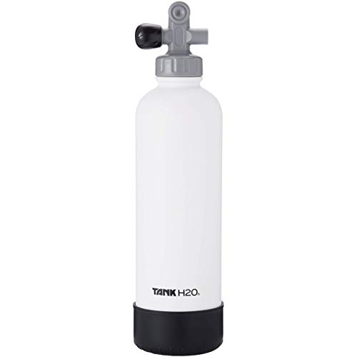TANKH2O Scuba Tank Vacuum Insulated Water Bottle: Great Gift and Accessory for Scuba Divers   Holds 700mL   Food-grade stainless steel bottle. Pack of 4