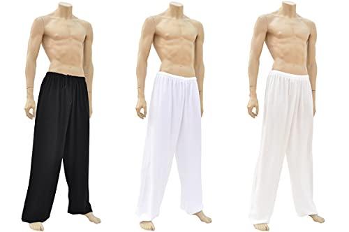 ShenLong - Pantalon Kung-fu, Tai Chi, Classique - Noir, 1m70