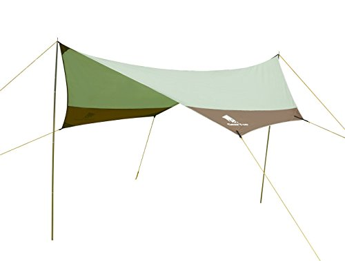 GEERTOP Tarp/ Bâche/ Toile de tente/ Tente...