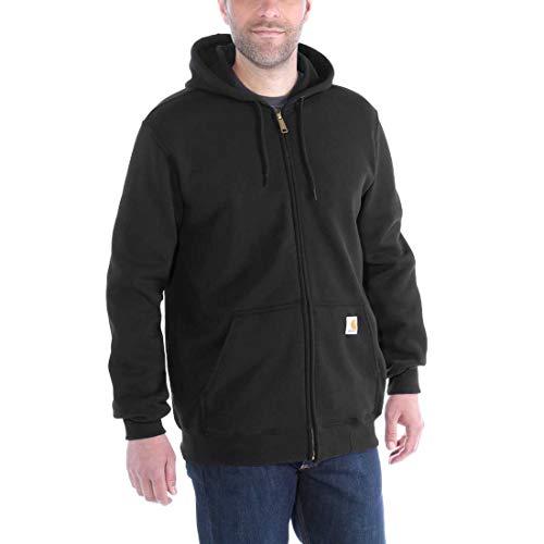 Carhartt Workwear K122 Kapuzenpullover Zip Hooded Sweater Original Fit - Schwarz - Large