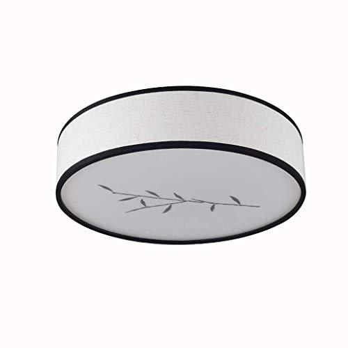 JTD plafondlamp, LED, voor slaapkamer, woonkamer, minimalistisch, modern, retrostijl, Chinese retrostijl, rond, JTD Groot