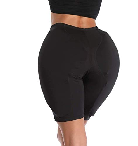 LXT PANDA Frauen Butt Hip Enhancer Höschen Gepolsterte Baumwolle Soft Shaper Slip, Crossdresser Butt Hip Enhancer Gepolsterte Shaper Höschen Pads Fake Ass Enhancer Unterwäsche. (2 STK.)