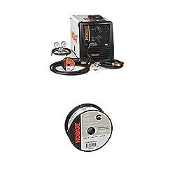 in budget affordable Hobart Handler 210 MVP MIG Welder, H381806-R18 1 lb ER4043 Aluminum Welding Wire, 0.030 inch