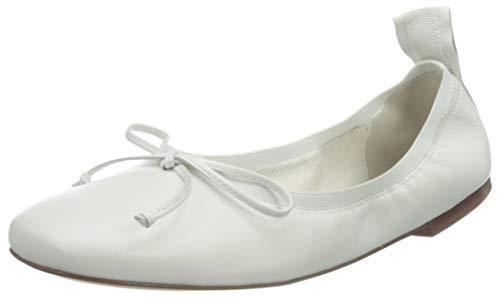 HÖGL Floaty, Zapatos Tipo Ballet Mujer, Blanco, 36 EU