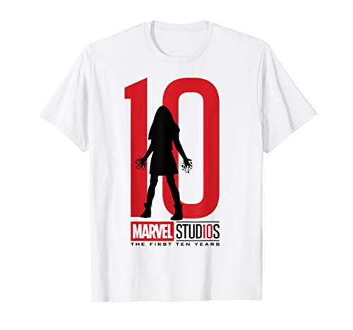Marvel Studios 10 Years Scarlet Witch Graphic T-Shirt