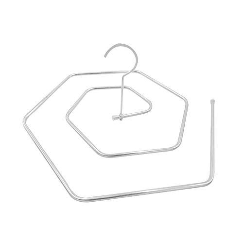 BNSDMM En Forma de Espiral Tendedero Espiral Percha de Secado la Hoja de Cama edredón Simples de la casa de Almacenamiento de suspensión Redonda giratoria Hexagonal Percha Sun edredón Artefacto