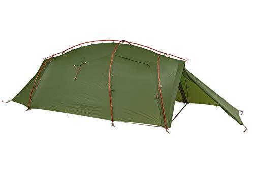 VAUDE 3-personen-zelt Mark XT 3P, vielseitiges 3 Personenzelt, sehr windstabil, leicht aufzubauen, green, one Size, 142184000