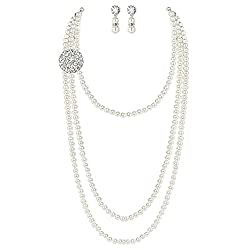 Gatsby Pearl Necklace