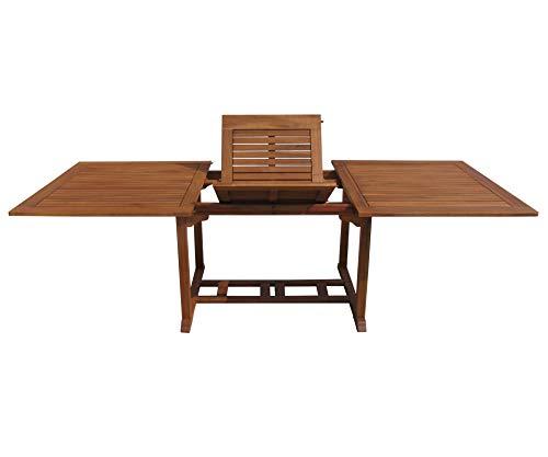 GRASEKAMP Qualität seit 1972 Gartentisch Cuba 180-240x110cm Akazienholz ausziehbar