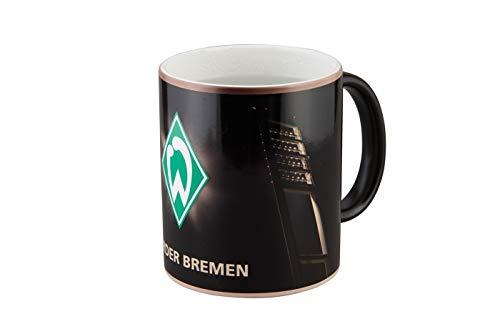 SV Werder Bremen Tasse - Magic Flutlichtmast - Kaffeetasse, Becher, Mug - Plus Lesezeichen I Love Bremen