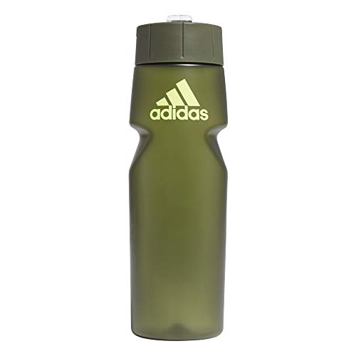 adidas Trail BTTL 0,75 Water Bottle, Unisex-Adult, Wild Pine/Solar Yellow, Talla Única