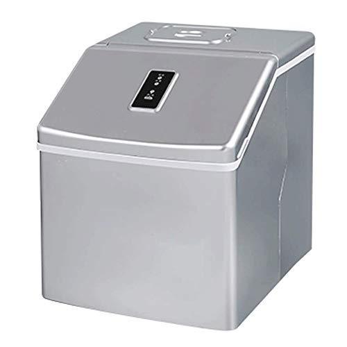 YFGQBCP Maquina Hielo Compacto portátil encimera del Cubo de Hielo máquina de Hacer Hielo máquina Comercial pequeña Tienda de té Manual de Hogares rápida del Cubo de Hielo Que Hace la máquina