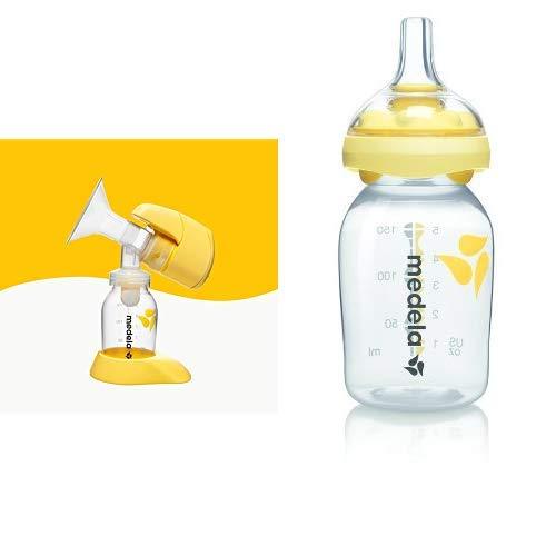 MEDELA Tiralatte Elettrico Mini Electric + Tettarella Calma con Bottiglia da 150 ml