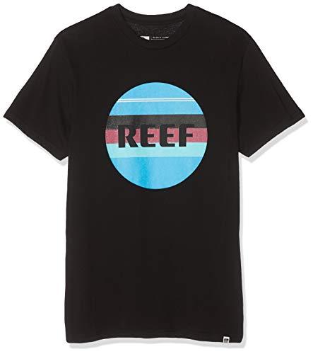 Reef Peeler 2 tee Camisa, Negro (Black BLA), Medium para Hombre