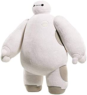 Soft 38cm  DISNEY BIG HERO 6 BAYMAX ROBOT White Plush Stuffed Cartoon Toy Dolls Kids Baby