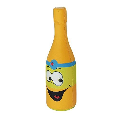 VIDOO Jumbo Gelb Bier Flasche 20Cm Langsam Steigende Weiche Sammlung Geschenk Dekor Spielzeug