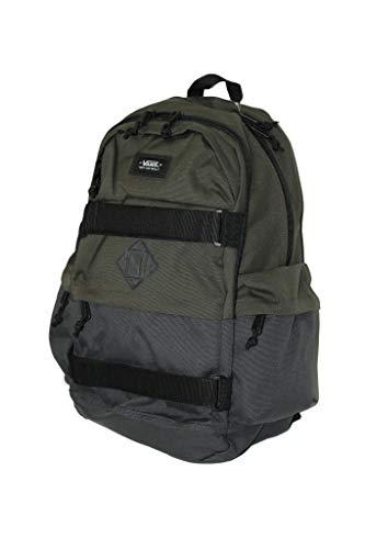 Vans Planned Pack 3 Laptop Backpack School Bag (Black/Olive/black)