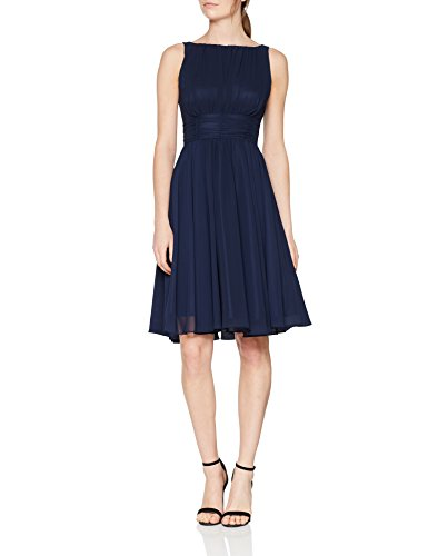 Swing Damen Kleid Emma Blau (Marine 300),38