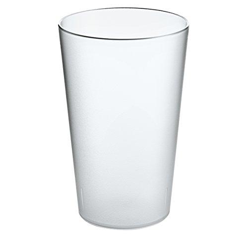 koziol RIO transparent klar Becher 300ml, Thermoplastischer Kunststoff, 7.3 x 7.3 x 11.5 cm