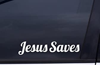 JESUS SAVES Sticker 9