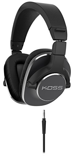 Koss 188569 On Ear Dynamic Headphones for iPod/iMac/Laptop/PC/DJ/MP3 Players - Black