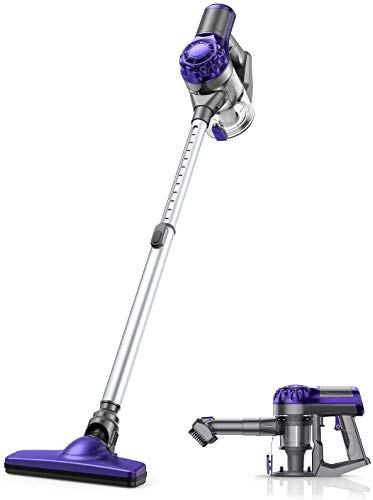 Cordless Vacuum Cleaner, APOSEN 18KPA Strong Suction Stick Vacuum, Ultra Lightweight, 4 in 1 Vacuum Cleaner for Home Hard Floor, Car, Pet Cleaning H10S