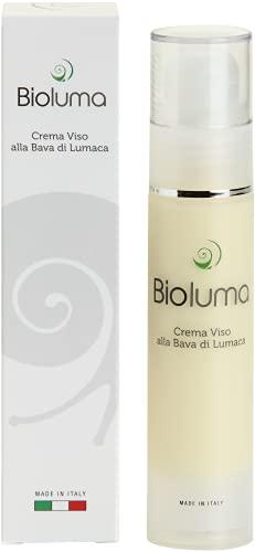 Bioluma Baba de Caracol Crema Facial Hidratante Nutritiva Anti-Envejecimiento con ácido Hialurónico Colágeno Vitaminas Piel Seca Aceitoso Mixto Adyuvante Tratamiento Antiarrugas Hombre Mujer 50ml