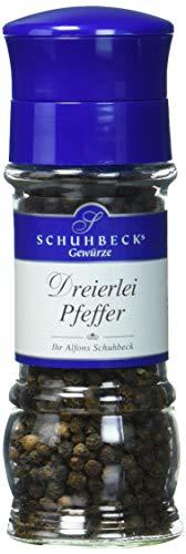 Schuhbecks Dreierlei Pfeffer, 3er Pack (3 x 60 g)