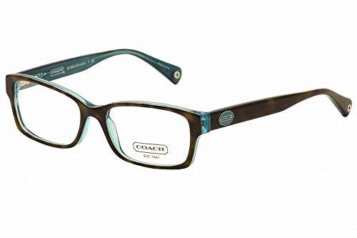 Eyeglasses Coach 0HC6040 5116 DARK TORTOISE/TEAL, 52-16-135