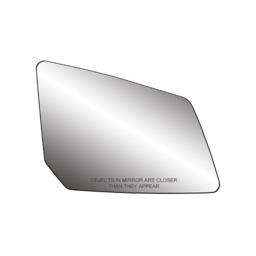 Fit System Passenger Side Non-Heated Mirror Glass w/Backing Plate, Chevrolet Traverse, GMC Acadia, Saturn Outlook, 5 5/8' x 7 13/16' x 10 1/8' (w/o Blind Spot, w/o auto dimming)