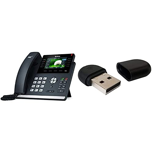 Yealink SIP-T46S IP Phone & WF40WLAN 150MBit/s Netzwerkkarte–Zubehör Netzwerk (kabellos, USB Type, WLAN, 150Mbit/s, 2,4GHz, IEEE 802.11b, IEEE 802.11g, IEEE 802.11N)
