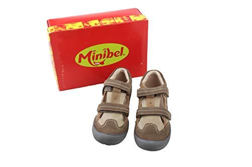 Minibel Kinder Schuhe Halbschuhe Leder Gr. 34 beige Neu