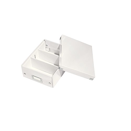 Leitz Click & Store Organisationsbox, Klein, weiß, 60570001