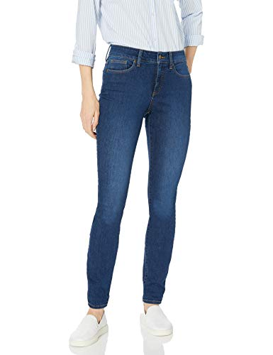NYDJ Women's Alina Skinny Jeans, Cooper, 10