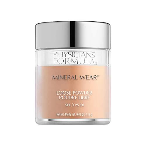 Physicians Formula Spf 16 Mineral Wear Loose Powder, Medium Beige, 0.42 Ounce