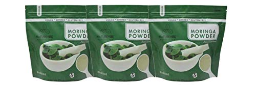 Naturevibe Botanicals Organic Moringa Green Leaf Powder 3lbs (3 Unit of 1lb Each), Raw-Gluten-Free & Non-GMO…