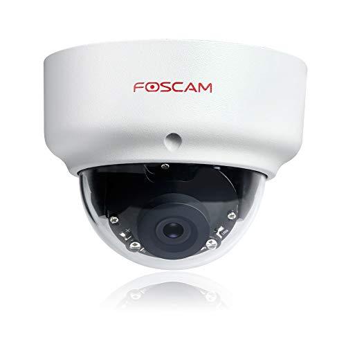 Foscam FI9961EP Full HD 2MP PoE P2P WDR 2.0 wettergeschützte IP-Kamera / Überwachungskamera mit IR Nachtsicht bis 20 m, Bewegungserkennung