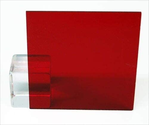 Red Transparent Acrylic Gifts Plexiglass Sheet Max 88% OFF 12