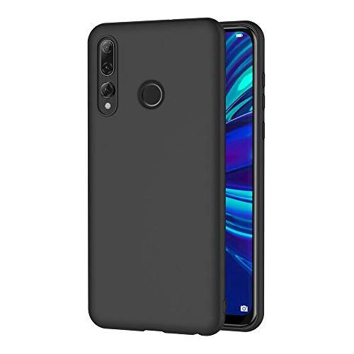 AICEK Cover per Huawei P Smart+ 2019, Cover P Smart+ 2019 Nero Silicone Case Molle di TPU Sottile Custodia per Huawei P Smart Plus 2019 (6.21 Pollici)