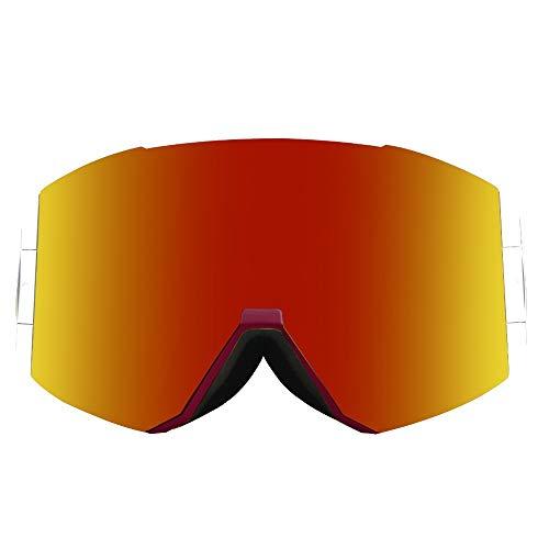T-ara Ciencia más reciente 2020 Nuevas gafas de esquí cilíndricas de lentes de esquí de doble reflexión de senderismo gafas de esquí Cómodo de llevar (Color : J2, Size : 19.5 * 10cm)